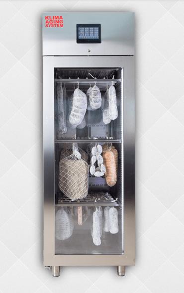 Шкафы для созревания сыра и колбасы