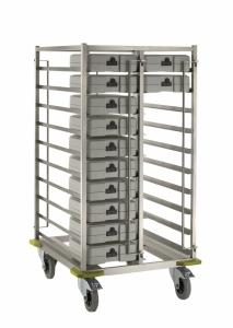 Тележки для транспортировки термобоксов и термоподносов