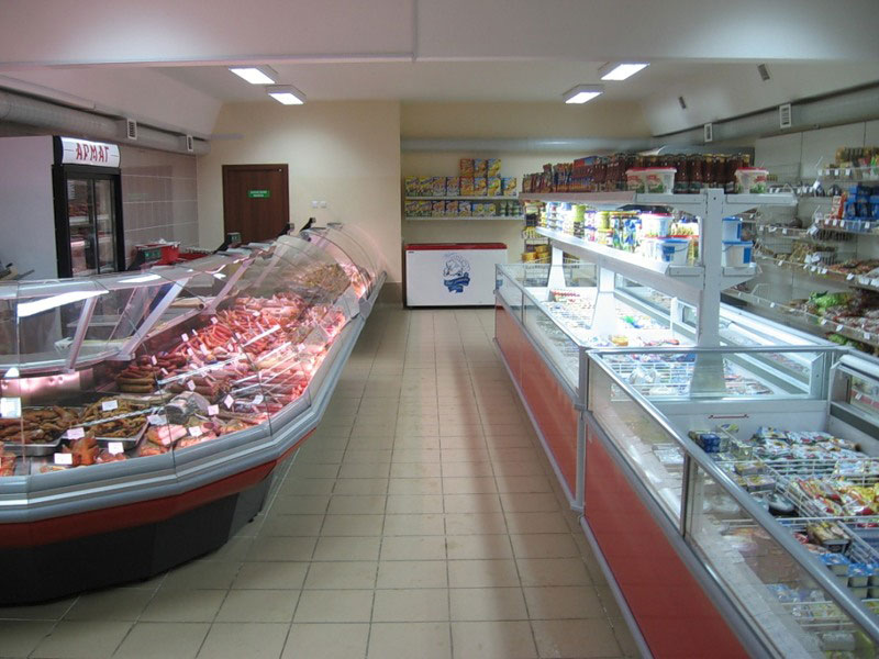 Торговый дизайн холодильное оборудование