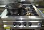 Плита промышленная с газовым контроллером М015-4 (40х40) 2