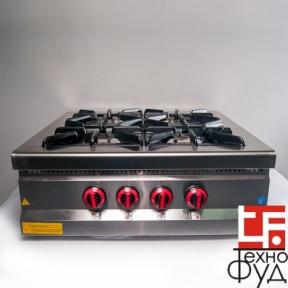 Плита промышленная с газовым контроллером М015-4N
