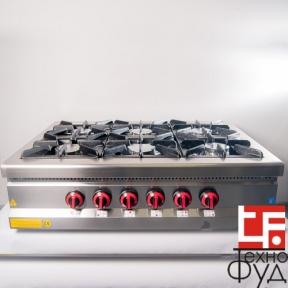 Плита промышленная с газовым контроллером М015-6N