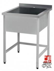 Ванна моечная сварная односекционная 500х600х850