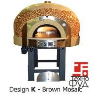 Дровяная печь для пиццы газовая Design G 100 K