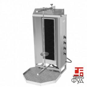 Аппарат для приготовления шаурмы с  верхним приводом М077-4C