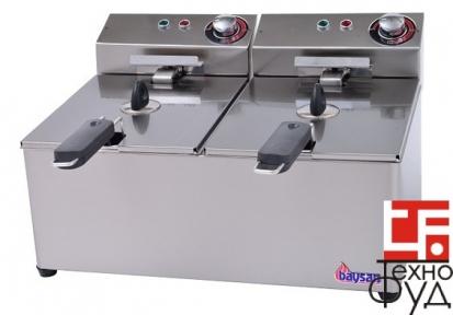 Фритюрница электрическая настольная Е31005 (5+5л)