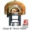 Дровяная печь для пиццы газовая Design G 120 K