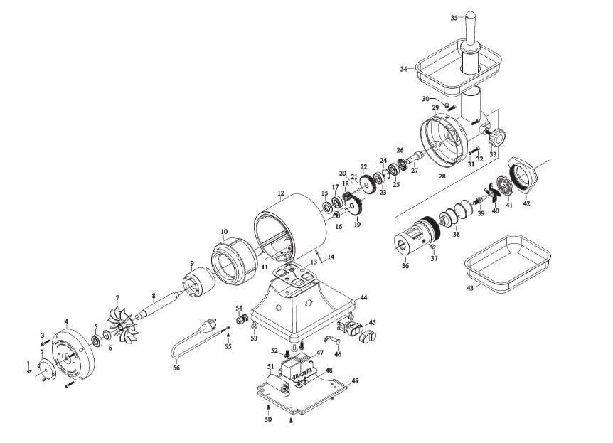 Схеми для обладнання sirman