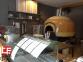 Дровяная печь для пиццы Design D140K 9