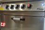 Плита промышленная с газовым  контроллером 70S-M015-4F 3