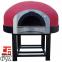 Дровяная печь для пиццы Design D120K\Red Mosaic 2