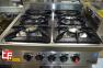 Плита промышленная с газовым  контроллером 70S-M015-4F 0