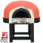 Дровяная печь для пиццы Design D120K\Red Mosaic 1