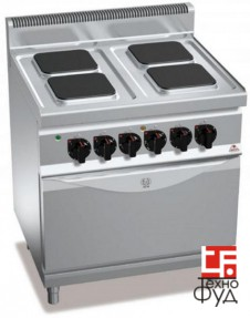 Плита промышленная электрическая E7PQ4+FE2