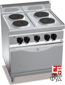 Плита электрическая промышленная E7PQ4
