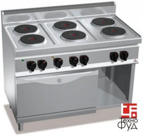 Плита электрическая для ресторана E7P6+FE1