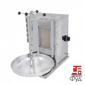 Шаурма газовая М072 c газовым контроллером