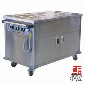 Прилавок передвижной для горячих блюд OHBED 12070