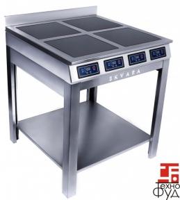 Плита индукционная напольная с полкой 4 конфорки Sif 4.8 (8 кВт)