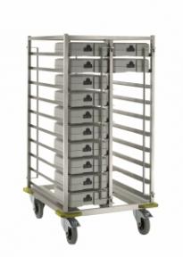 Тележка SYTW-32/CL  для транспортировки термоподносов CLASSIC