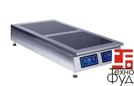 Плита индукционная настольная 2 конфорки Sit 2.4 (4кВт)