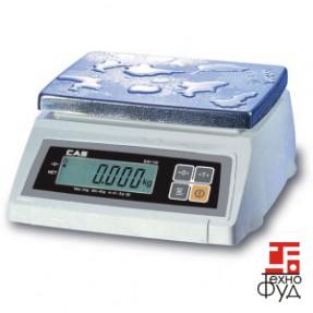 Весы настольные с влагозащитой SW-10W