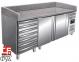 Холодильний стіл для піци з ящиками SARO MARGA PZ 2610 TN