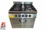 Плита промышленная с газовым  контроллером 70S-M015-4F